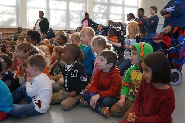 Folktale day audience