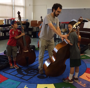 SWS string orchestra rehersal