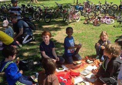 sws bike trip picnic